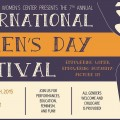 2015 International Women's Day flyer