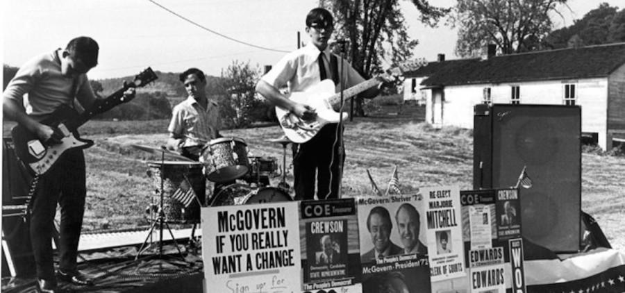 1972 McGovern Rally, Athens, Ohio