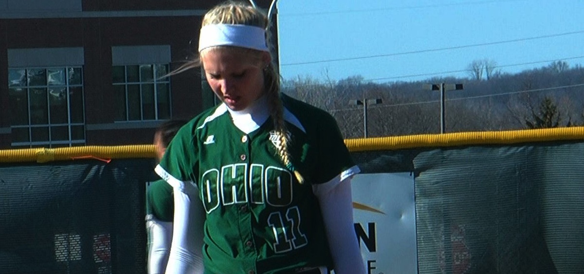 Ohio softball pitching