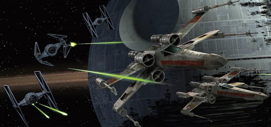 Star Wars X-Wing battle
