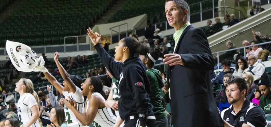Ohio university womens basketball bench