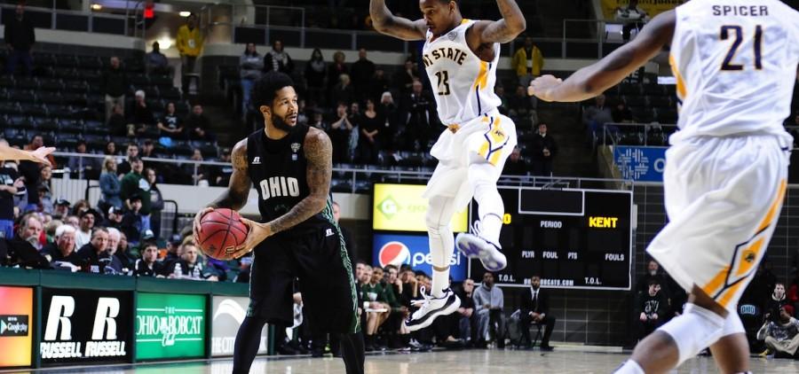 Ohio university Willis basketball passing