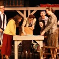 "Cast of Athens High School's ""The Diary of Anne Frank"""