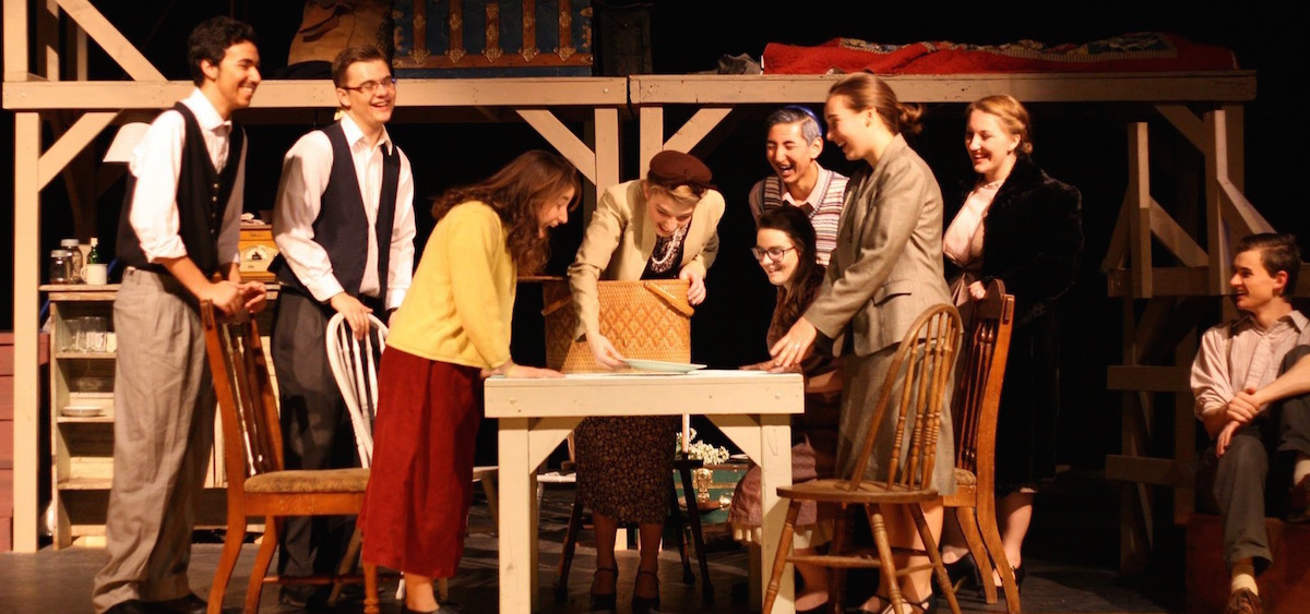 """Cast of Athens High School's """"The Diary of Anne Frank"""""""