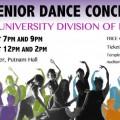2015 Spring Dance Concert flyer