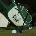 Ohio Golf bag and shoe