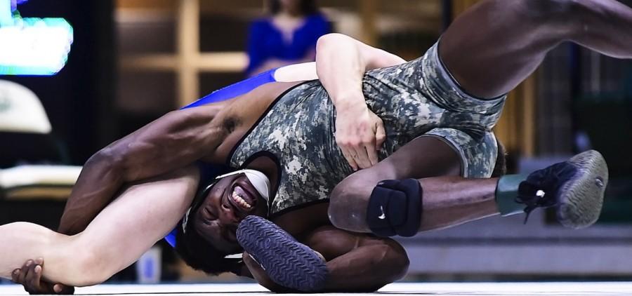 Ohio university Lindsey wrestling hold