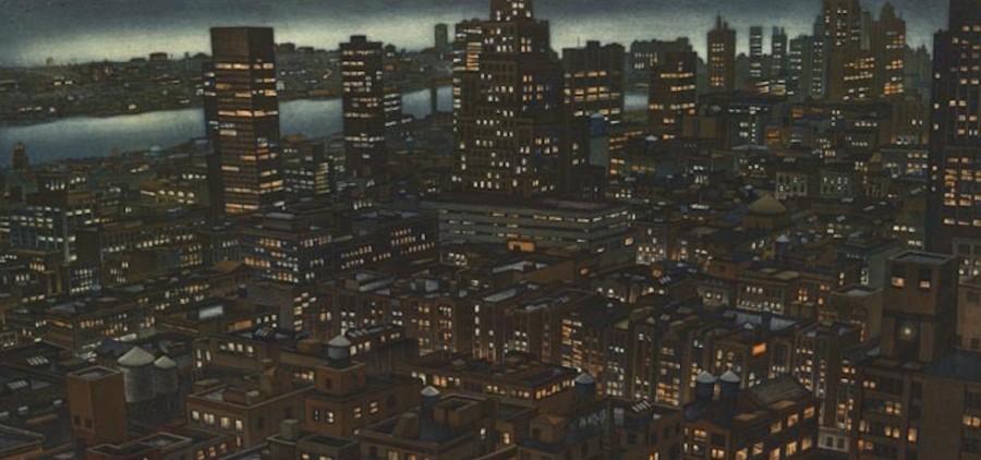 """Night Fall,"" Art Werger"
