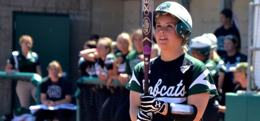 OU softball at bat