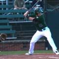 Ohio baseball player at bat versus Marshall
