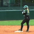 Ohio softball on second