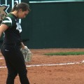Ohio softball prepping mound