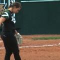 Ohio softball prepping mound