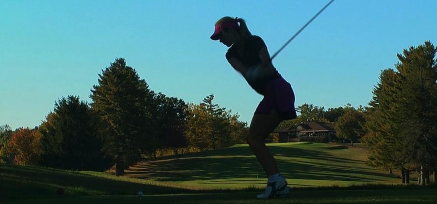 Ohio woman golfer