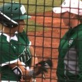 feature image softball player & coach
