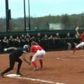softball versus Dayton