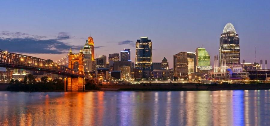 Cincinnati skyline featured high res