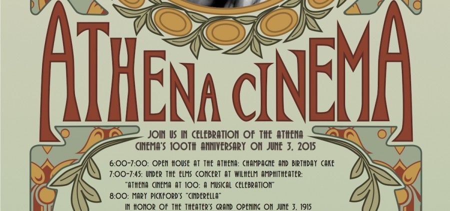 Athena Cinema 100 years poster (crop)