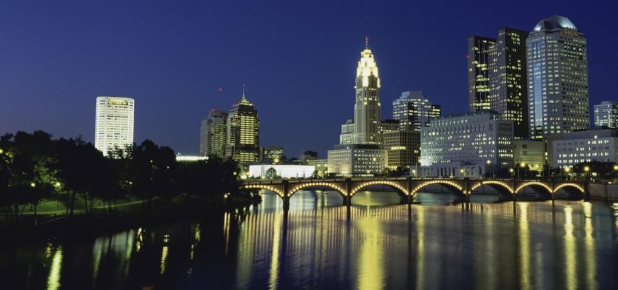 Columbus skyline high-res