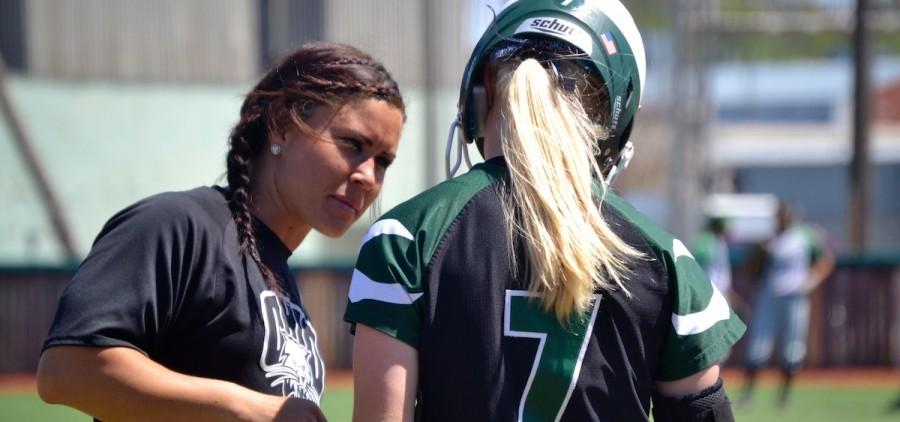 Ohio University softball coach & player