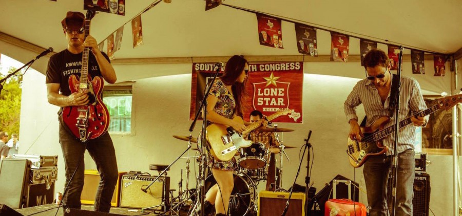 Angela Perley & The Howlin' Moons at SXSW