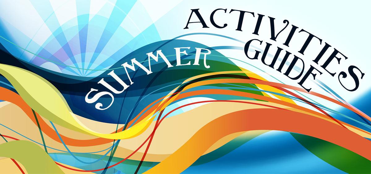 Summer Activities Guide banner