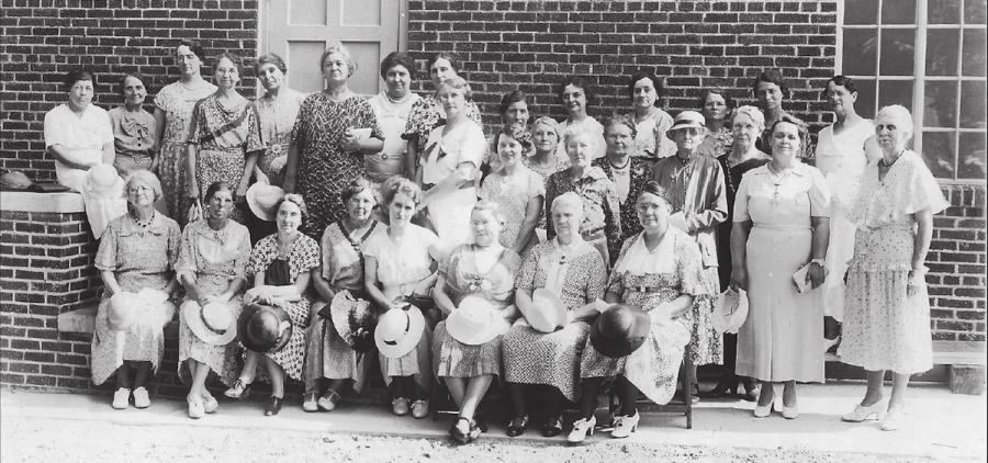 McArthur Civic Club, circa 1930s (Arcadia Publishing)