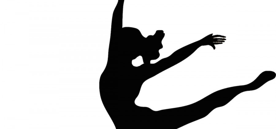 Dancer silhouette (vectorgraphics.co)