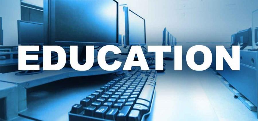 A digital education graphic