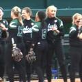 Ohio University softball team celebrates