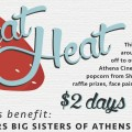 Athena Beat the Heat 2015 banner