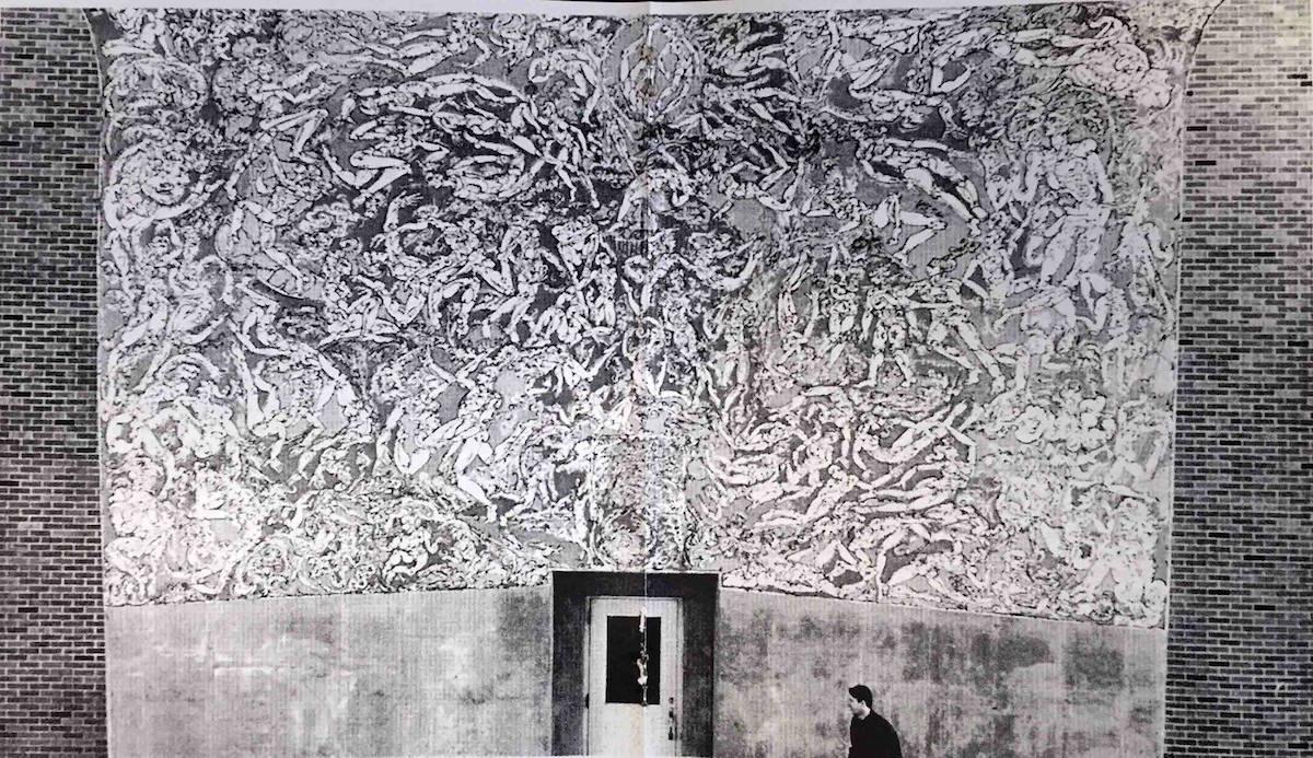 Aethelred Eldridge Mural, first version