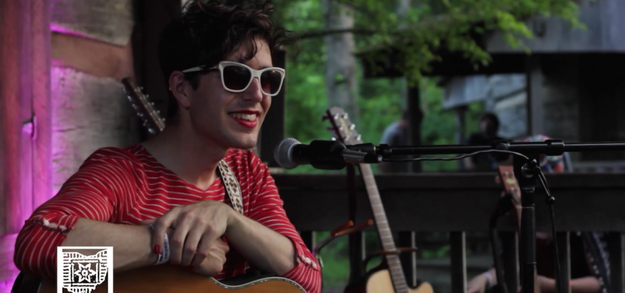 Ezra Furman at Gladden House Sessions, 2015