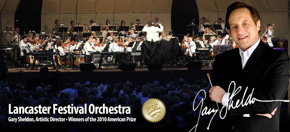 Gary Sheldon, Lancaster Festival Orchestra