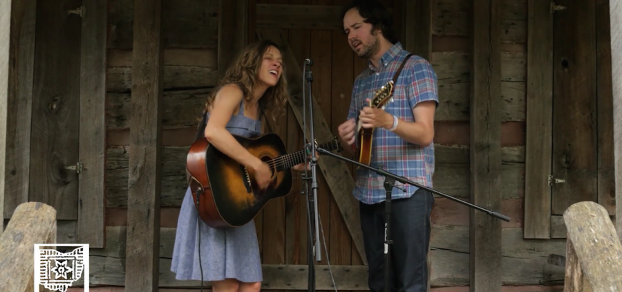 Mandolin Orange at Gladden House Sessions, 2015