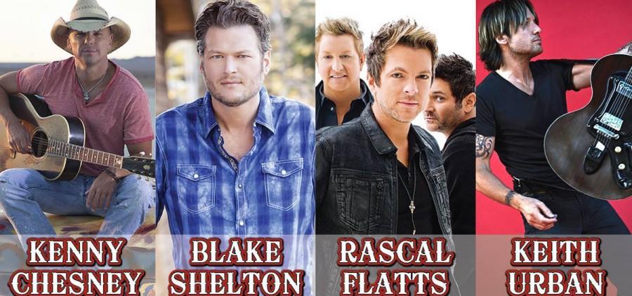 2015 Buckeye Country Superfest lineup