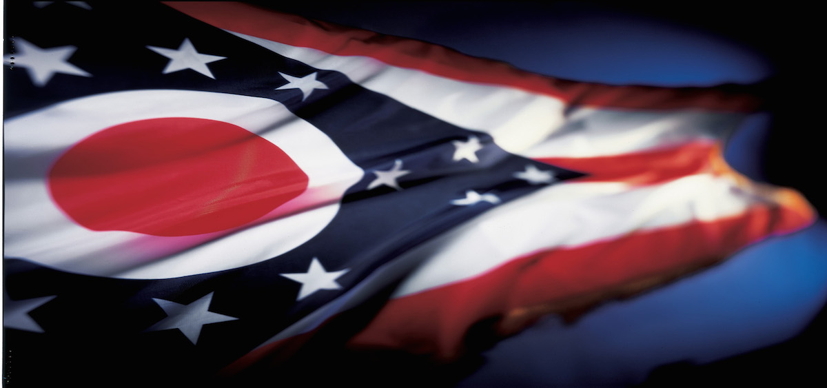 The flag of Ohio