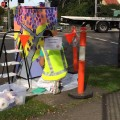 Traffic box painting