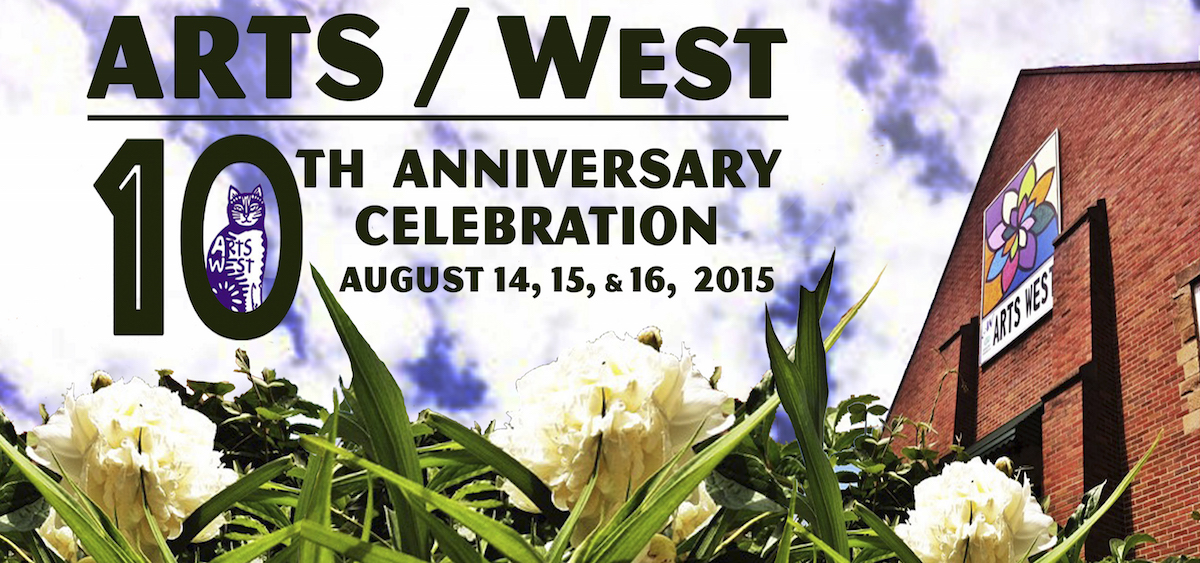 ARTS/West 10th anniversary banner