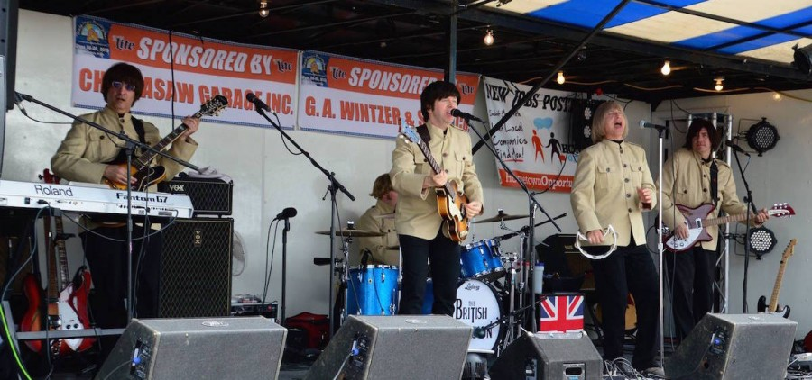 The British Invasion, a '60s tribute group, will perform at Stuart's Opera House on July 12. (facebook.com/thebritishinvasionpage)