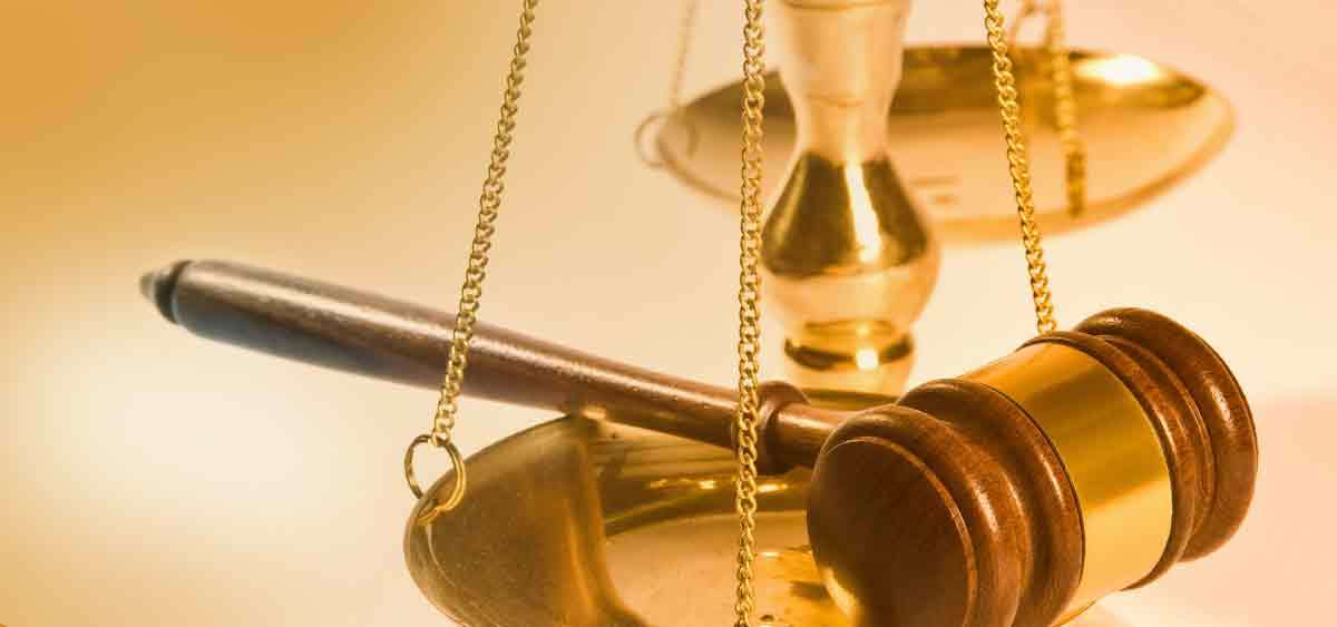 Gavel and scales FEATURE