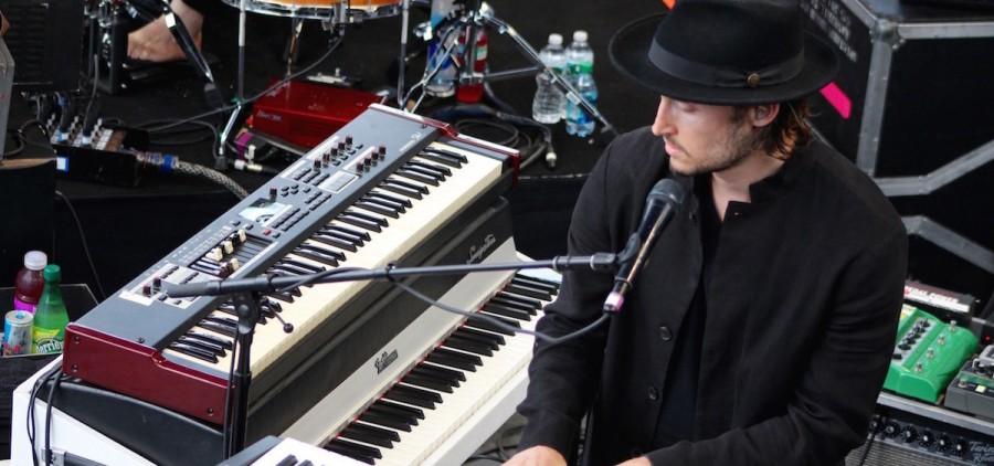 Bo Koster at 2015 Newport Folk Festival (Josh Antonuccio/WOUB)