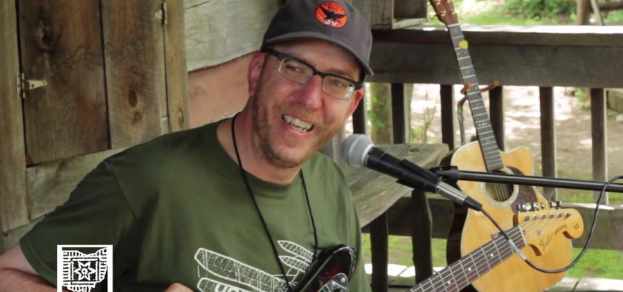 Mike Elliott at Gladden House, 2015