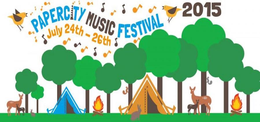 Paper City Music Festival 2015 banner