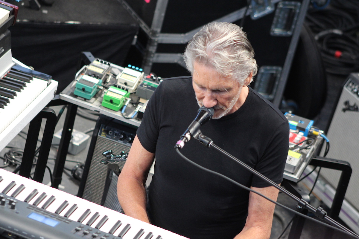 Roger Waters at 2015 Newport Folk Festival (Josh Antonuccio/WOUB)