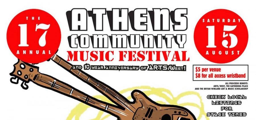 2015 Athens Community Music Festival poster (Jason Frederick)