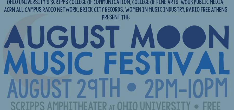 2015 August Moon Music Festival poster
