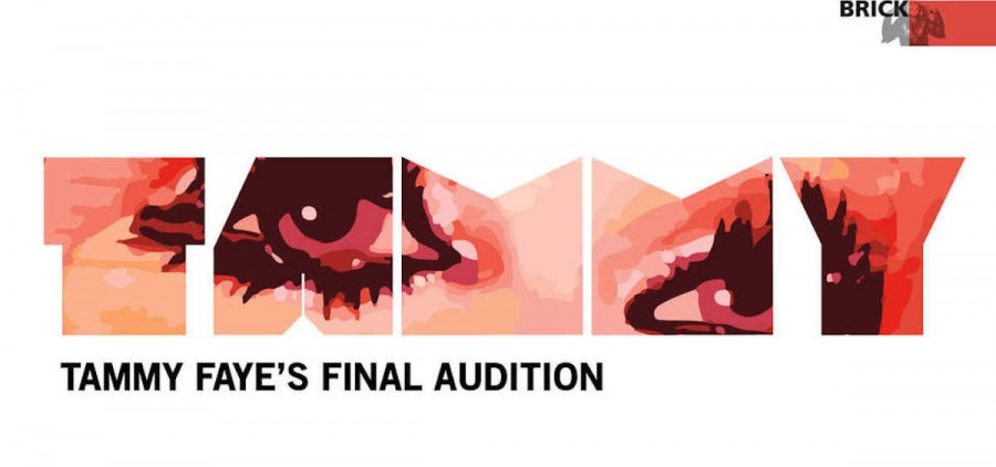 """Tammy Faye's Final Audition"" banner"