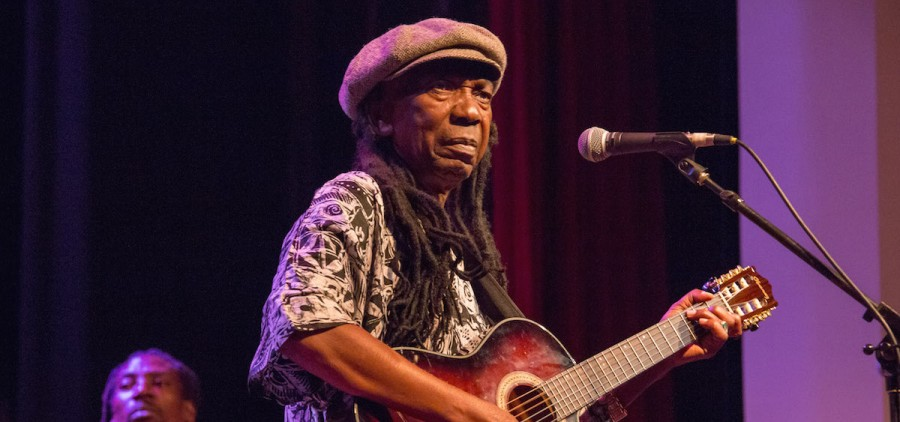 Thomas Mapfumo performs at Stuart's Opera House, Sept. 9, 2015 (Jasmine Beaubien/WOUB)