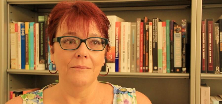Social media professor Dr. Karen Riggs